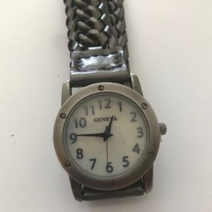 Vintage Gun Metal Wrap Around Watch